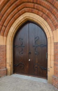 side-door-of-the-old-church