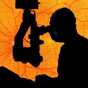 eye-surgeon-performing-retinal-surgery-image-with-retina-image-at-background